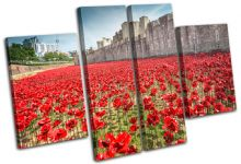 Tower of London Poppies City - 13-2237(00B)-MP17-LO